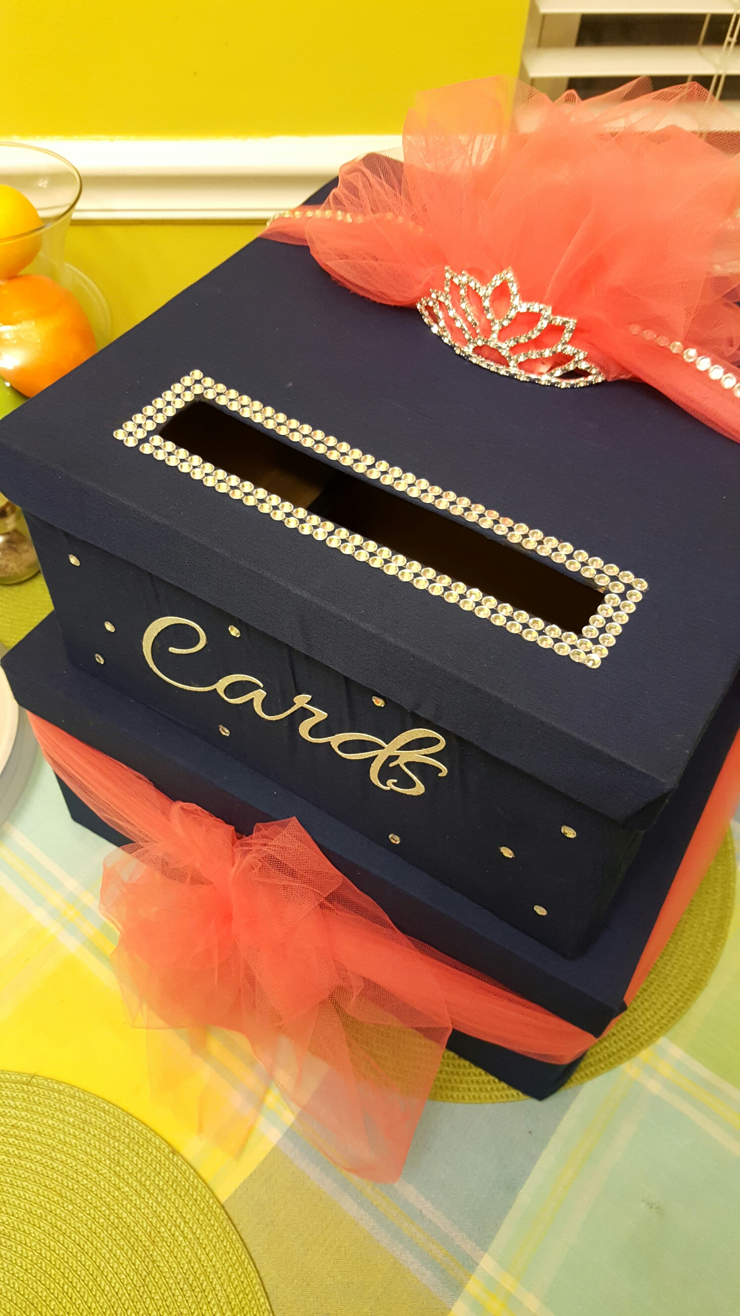 Crafting For Hire Quinceanera Card Box Our Urban Eden